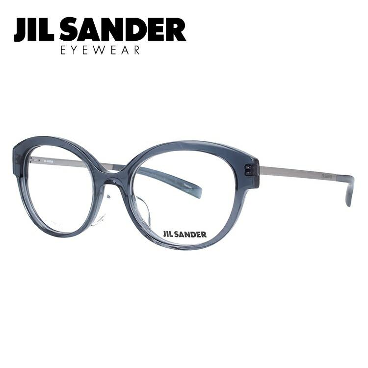 ジルサンダー メガネ フレーム 0円レンズ対象 J4010-B 52サイズ レギュラーフィット レディース 【JIL SANDER】