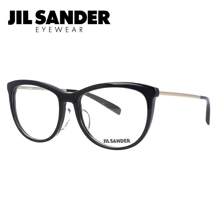ジルサンダー メガネ フレーム 0円レンズ対象 J4012-A 54サイズ レギュラーフィット レディース 【JIL SANDER】