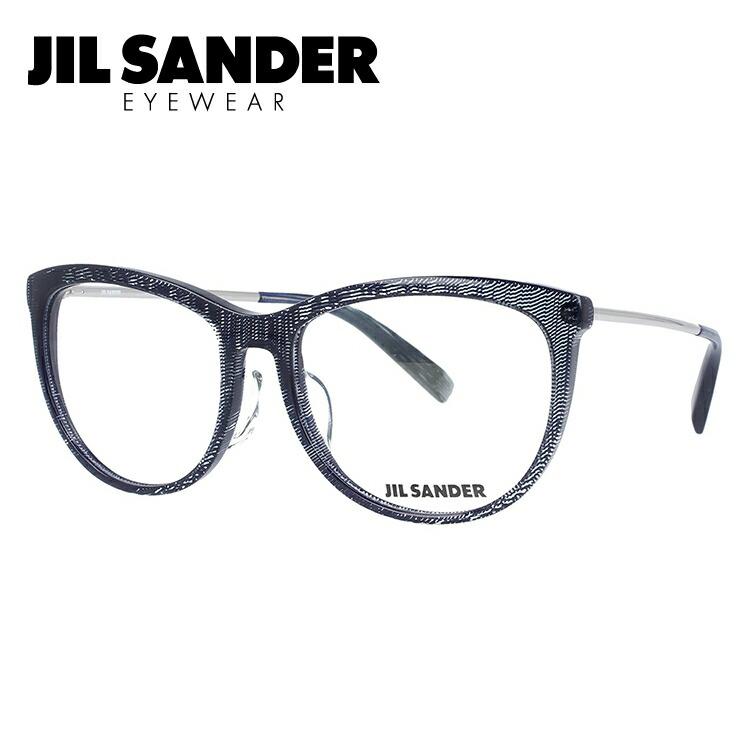 ジルサンダー メガネ フレーム 0円レンズ対象 J4012-C 54サイズ レギュラーフィット レディース 【JIL SANDER】