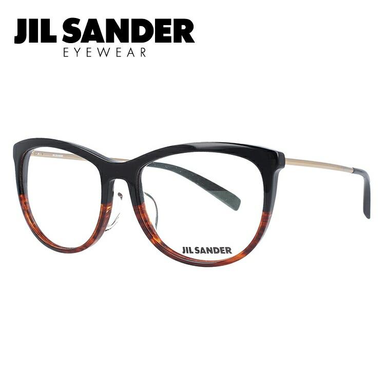 ジルサンダー メガネ フレーム 0円レンズ対象 J4012-D 54サイズ レギュラーフィット レディース 【JIL SANDER】