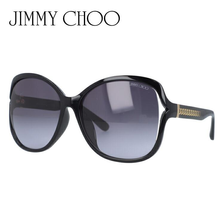 ジミーチュウ サングラス 度付き対応 PATTY FS 19T/HD 61 ブラック アジアンフィット レディース UVカット 紫外線対策 新品 【JIMMY CHOO】