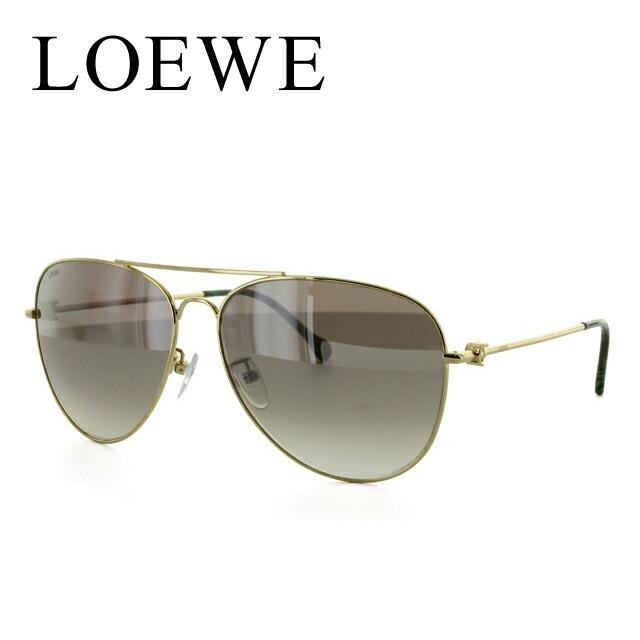 ロエベ LOEWE サングラス SLW478M 0300 60サイズ 調整可能ノーズパッド ミラーレンズ【レディース】 UVカット