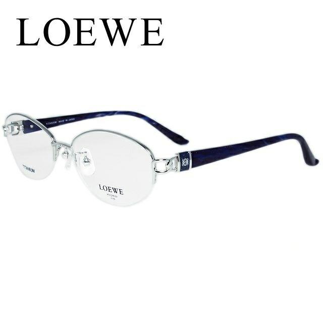 メガネ 度付き 伊達 PCメガネ 老眼鏡 遠近両用 ミラー 調光 カラーレンズ 各種対応。ロエベの眼鏡を自分仕様にカスタマイズ【ギフトラッピング無料】 LOEWE ロエベ 伊達メガネ 眼鏡 VLW398J-583 53 ラウンド/チタン/セル/レディース/ナイロール 【ラウンド型】