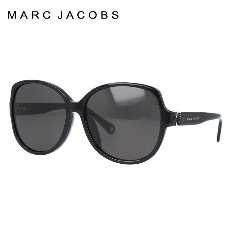 マークジェイコブス サングラス MARC91/FS MARC807/NR 59サイズ レディース アジアンフィット オーバル 新品 【MARC JACOBS】