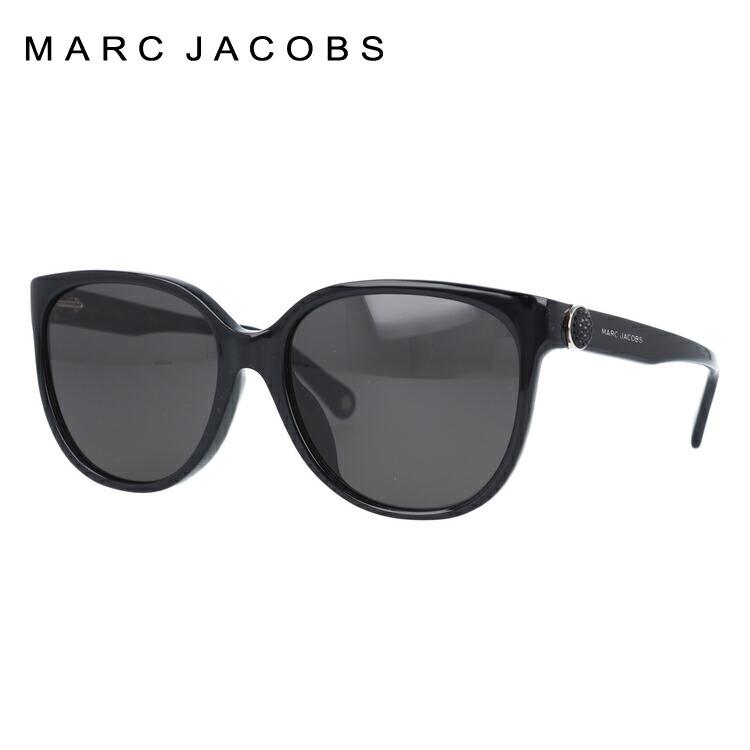 マークジェイコブス サングラス 度付き対応 MARC92/FS MARC807/NR 57サイズ レディース アジアンフィット ウェリントン 新品 【MARC JACOBS】