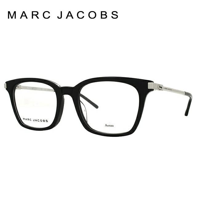 マークジェイコブス メガネ フレーム 0円レンズ対象 MARC155F CSA 52サイズ メンズ レディース ユニセックス 度付きメガネ 伊達メガネ アジアンフィット ウェリントン 新品 【MARC JACOBS】