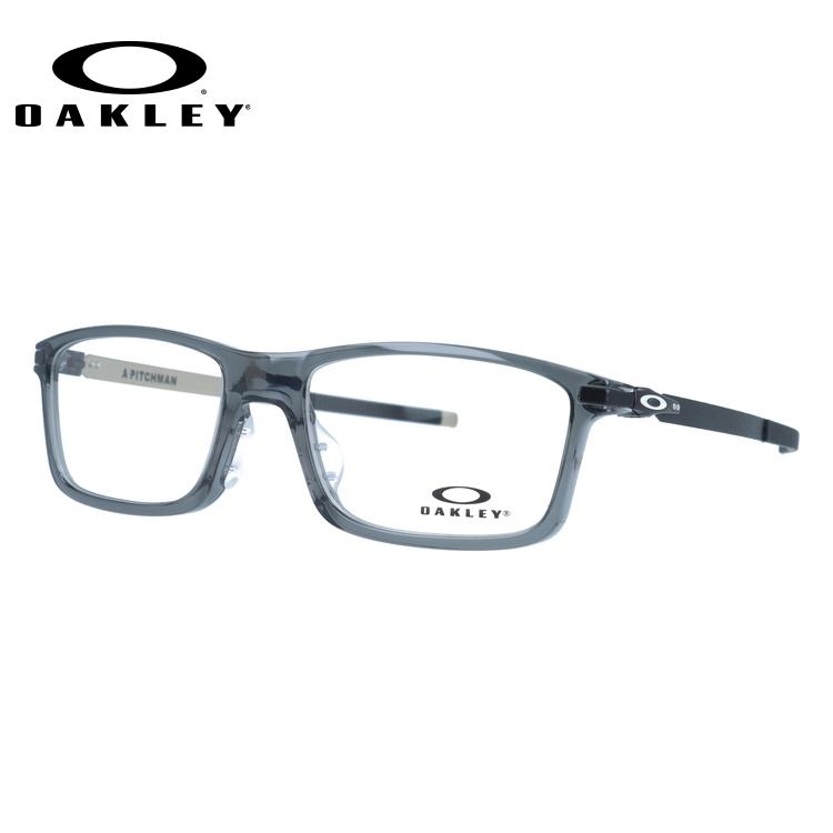 オークリー 眼鏡 フレーム OAKLEY メガネ PITCHMAN ピッチマン OX8096-0655 55 アジアンフィット スクエア型 スポーツ メンズ レディース 度付き 度なし 伊達 ダテ めがね 老眼鏡 サングラス【国内正規品】