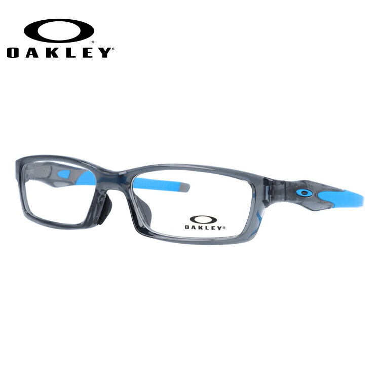 オークリー メガネ フレーム クロスリンク OX8118-0656 56サイズ アジアンフィット メンズ スポーツメガネ ドライブ アウトドア 【OAKLEY/CROSSLINK】
