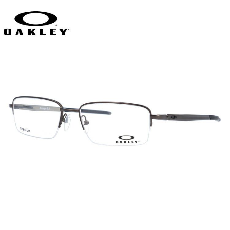 オークリー 眼鏡 フレーム OAKLEY メガネ GAUGE 5.1 ゲージ5.1 OX5125-0354 54 レギュラーフィット(調整可能ノーズパッド) スクエア型 メンズ レディース 度付き 度なし 伊達 ダテ めがね 老眼鏡 サングラス【国内正規品】