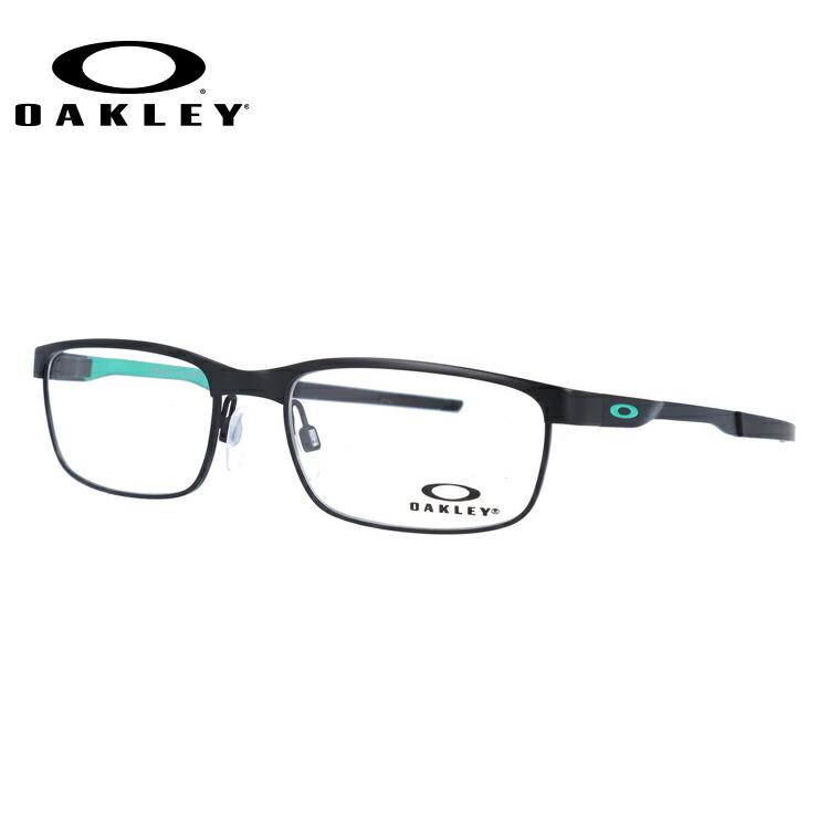 オークリー 眼鏡 フレーム OAKLEY メガネ STEEL PLATE スチールプレート OX3222-0654 54 レギュラーフィット(調整可能ノーズパッド) スクエア型 メンズ レディース 度付き 度なし 伊達 ダテ めがね 老眼鏡 サングラス【国内正規品】