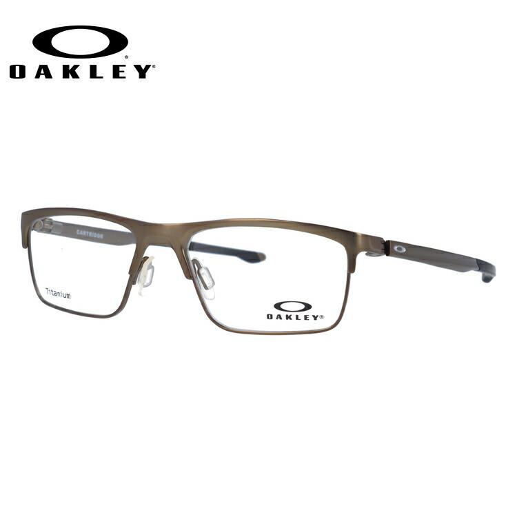 オークリー メガネ フレーム 2018年新作 カートリッジ OX5137-0252 52サイズ メンズ レディース ユニセックス スクエア 度付きメガネ 伊達メガネ 新品 【OAKLEY/CARTRIDGE】