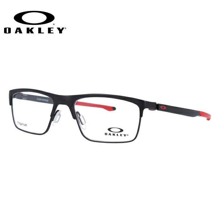 オークリー メガネ フレーム 2018年新作 カートリッジ OX5137-0452 52サイズ メンズ レディース ユニセックス スクエア 度付きメガネ 伊達メガネ 新品 【OAKLEY/CARTRIDGE】