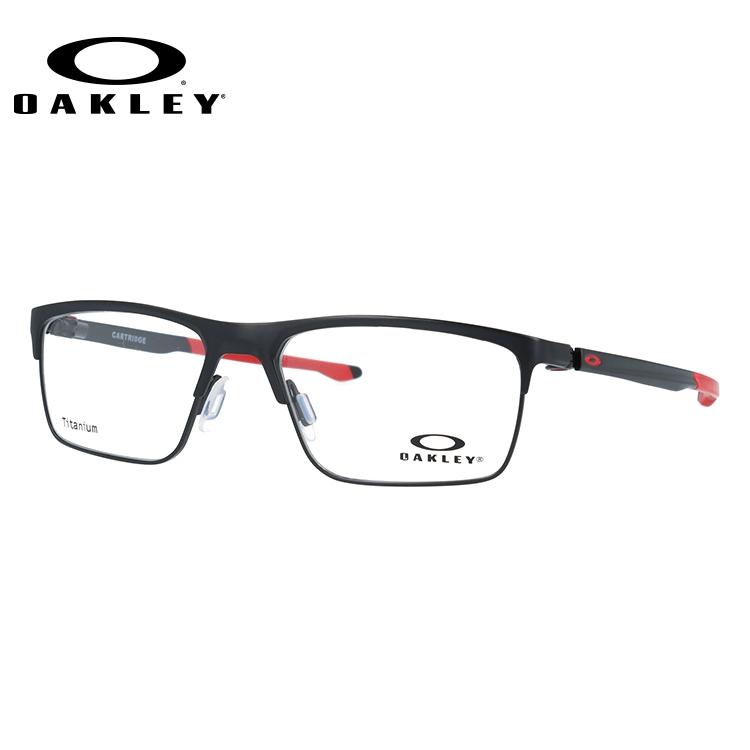 オークリー メガネ フレーム 2018年新作 カートリッジ OX5137-0454 54サイズ メンズ レディース ユニセックス スクエア 度付きメガネ 伊達メガネ 新品 【OAKLEY/CARTRIDGE】