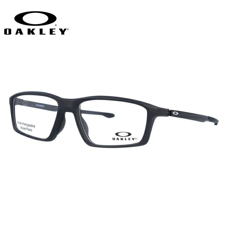 オークリー 眼鏡 フレーム OAKLEY メガネ CHAMBER チェンバー OX8138-0153 53 TrueBridge(4種ノーズパッド付) スクエア型 スポーツ メンズ レディース 度付き 度なし 伊達 ダテ めがね 老眼鏡 サングラス【海外正規品】