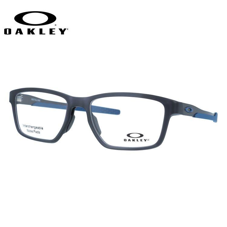 オークリー 眼鏡 フレーム OAKLEY メガネ METALINK メタリンク OX8153-0755 55 レギュラーフィット スクエア型 スポーツ メンズ レディース 度付き 度なし 伊達 ダテ めがね 老眼鏡 サングラス【海外正規品】