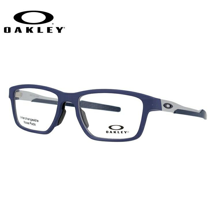 オークリー 眼鏡 フレーム OAKLEY メガネ METALINK メタリンク OX8153-0453 53 レギュラーフィット スクエア型 スポーツ メンズ レディース 度付き 度なし 伊達 ダテ めがね 老眼鏡 サングラス【海外正規品】