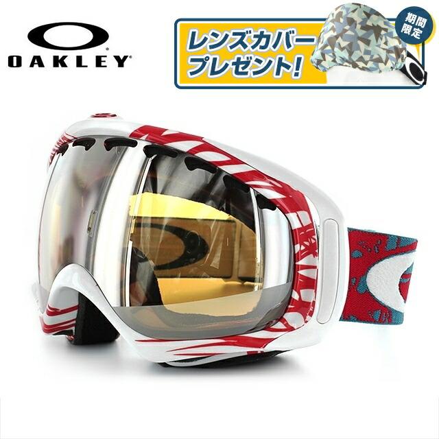 オークリー ゴーグル クローバー 57-790J アジアンフィット ジャパンフィット ミラーレンズ ヘルメット対応 スキーゴーグル スノーボード用ゴーグル 【OAKLEY/CROWBAR】