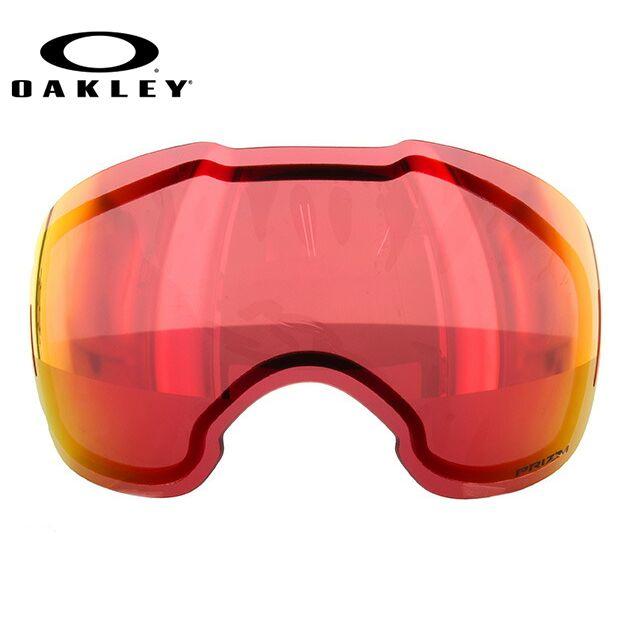 オークリー ゴーグル 交換レンズ エアブレイクXL 101-642-009 Fire ミラーレンズ スノーゴーグル用 替えレンズ スペアレンズ リプレイスメント【OAKLEY/Airbrake XL】
