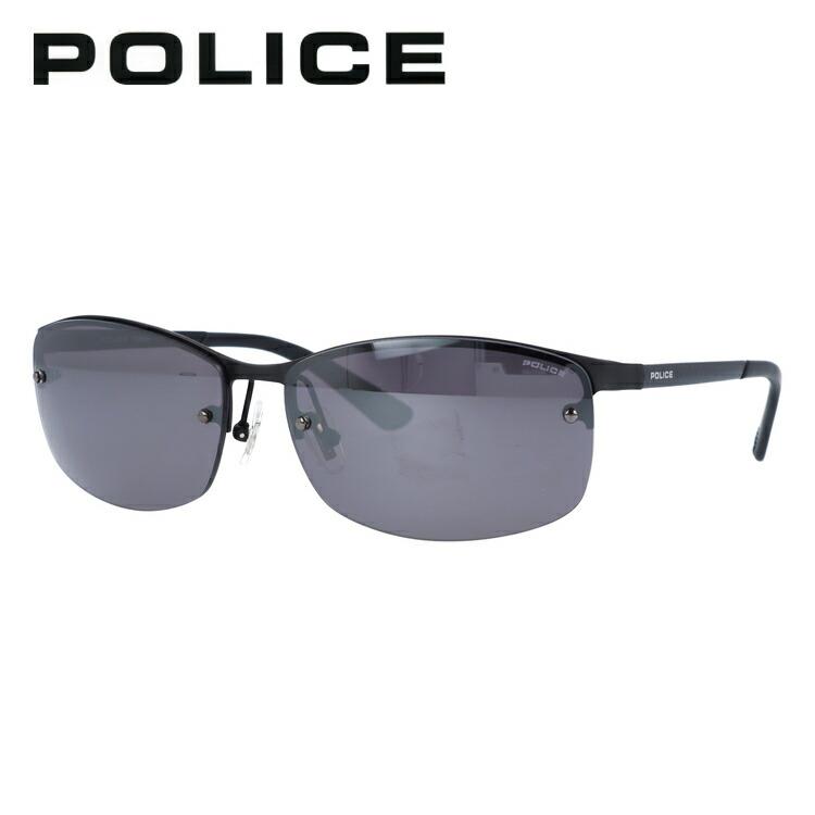 ポリス サングラス SPL917J 531M 61サイズ メンズ レディース ユニセックス スクエア ミラーレンズ 新品 【POLICE】