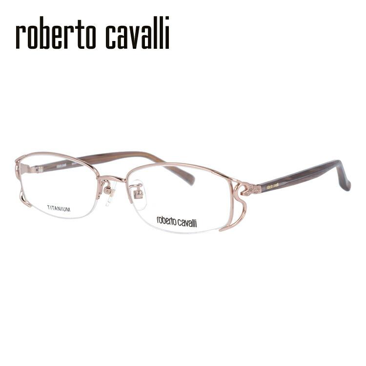 【伊達・度付きレンズ無料】ロベルトカヴァリ メガネ フレーム 眼鏡 RC0604-2 52サイズ メンズ レディース ユニセックス 度付きメガネ 伊達メガネ ブルーライト 遠近両用 老眼鏡 スクエア 新品 【Roberto Cavalli】