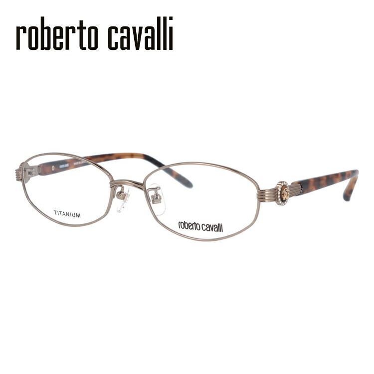メガネ 度付き 伊達 PCメガネ 老眼鏡 遠近両用 ミラー 調光 カラーレンズ 各種対応。ロベルトカヴァリの眼鏡を自分仕様にカスタマイズ【ギフトラッピング無料】 メガネ 度付き 度なし 伊達メガネ 眼鏡 Roberto Cavalli ロベルト カバリ RC0605-1 52サイズ チタン/ラウンド/レディース 【ラウンド型】 UVカット 紫外線