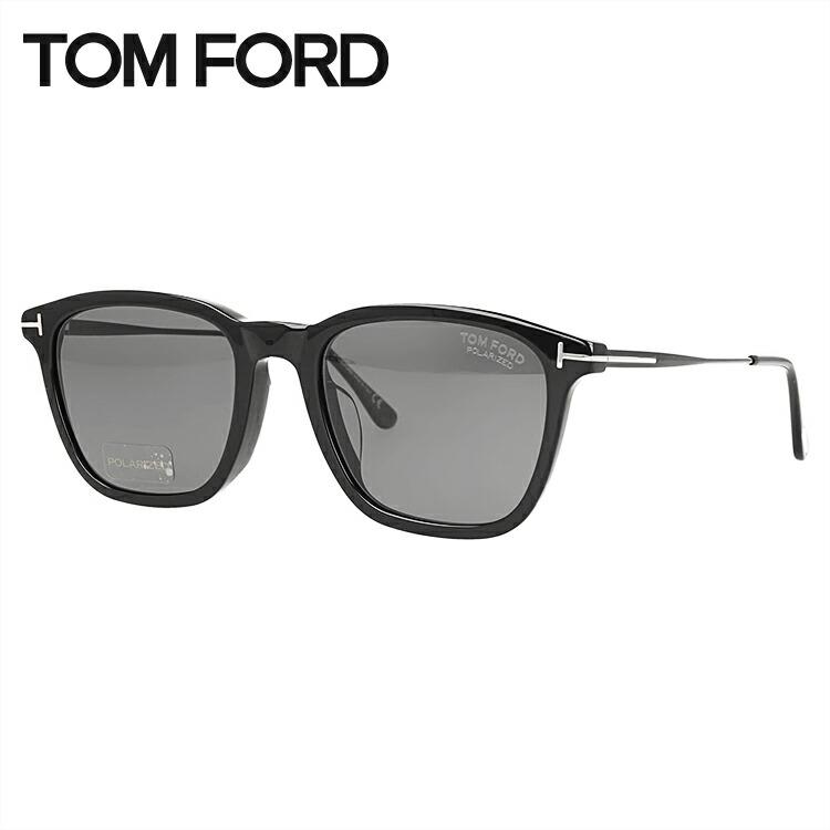 トムフォード 偏光サングラス アジアンフィット TOM FORD TF0625F(FT0625F) 01D 56サイズ ウェリントン メンズ レディース ユニセックス