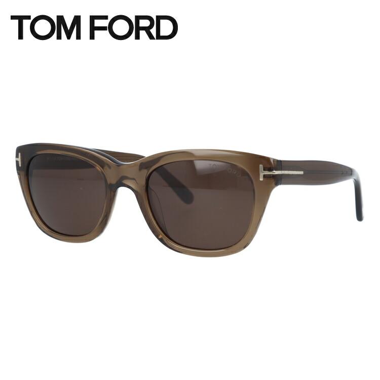 度付き対応 トムフォード TOM 未使用品 FORD サングラス レギュラーフィット ユニセックス FT9256 レディース 52サイズ ウェリントン 51J メンズ 信憑