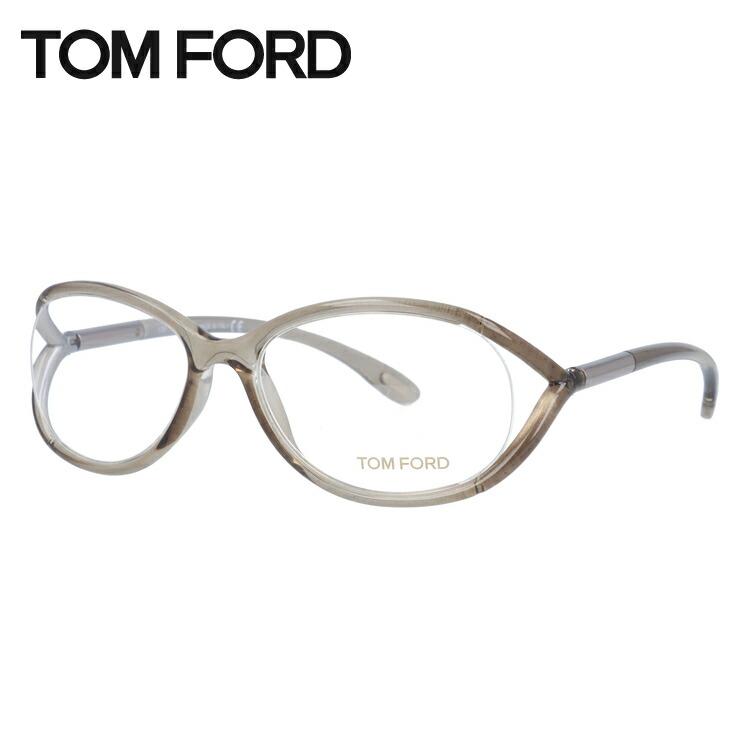 トムフォード メガネ フレーム 0円レンズ対象 セルフレーム TF5044 906 54サイズ クリアグレー メンズ TOMFORD FT5044 伊達メガネ 新品 【TOMFORD】