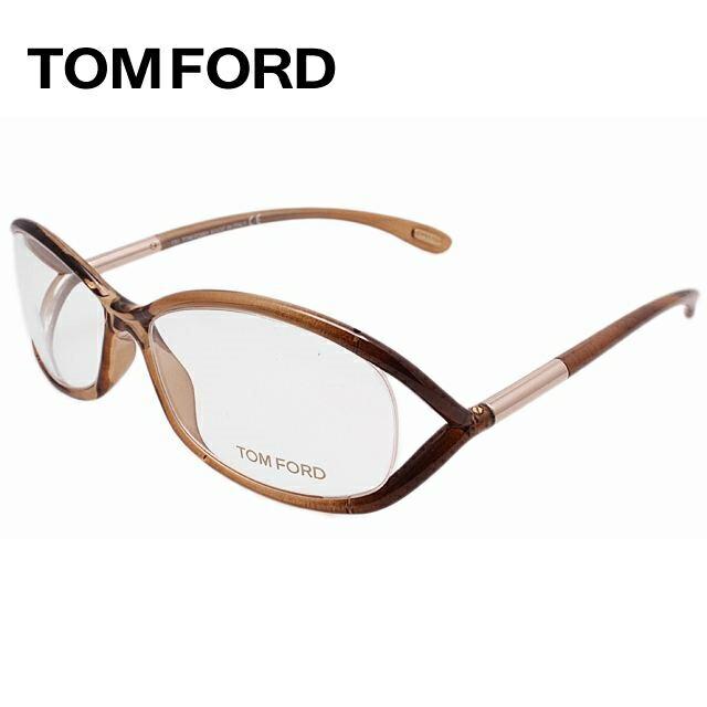 トムフォード メガネ フレーム 0円レンズ対象 セルフレーム TF5045 804 56サイズ クリアブラウン メンズ TOMFORD FT5045 伊達メガネ 新品 【TOMFORD】