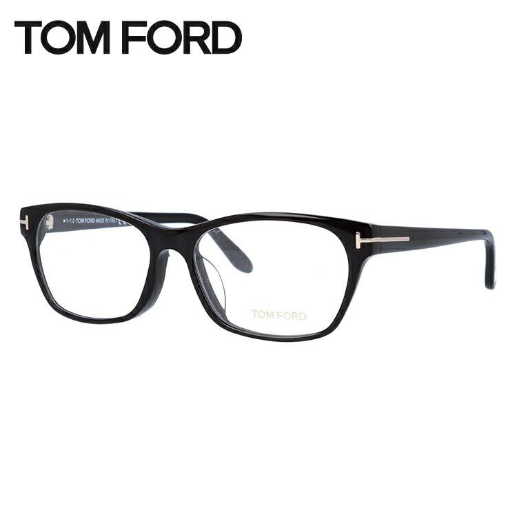 トムフォード メガネ フレーム 0円レンズ対象 TF5405F 001 54サイズ(FT5405F) メンズ レディース ユニセックス 伊達メガネ 度付きメガネ スクエア アジアンフィット 新品 【TOM FORD】