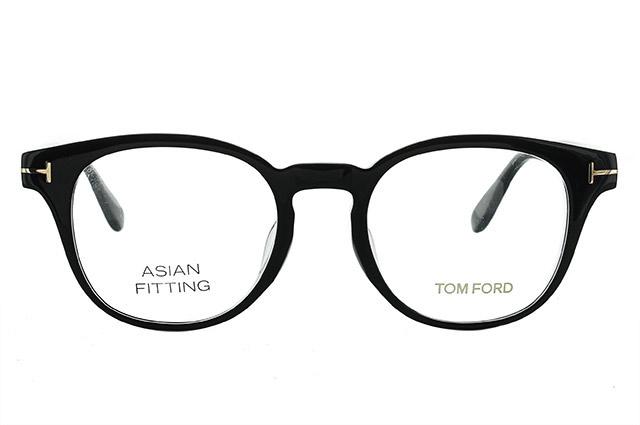 トムフォード メガネ フレーム 0円レンズ対象 TF5400F 001 49サイズ(FT5400F) メンズ レディース ユニセックス 伊達メガネ 度付きメガネ ボストン アジアンフィット 新品 【TOM FORD】