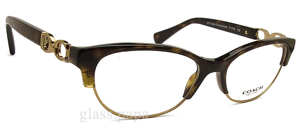 教练眼镜COACH HC5063-5270 Kitty眼镜名牌没镜片的眼镜度从属于的dakutatoizuredisuseru×金属glasspapa