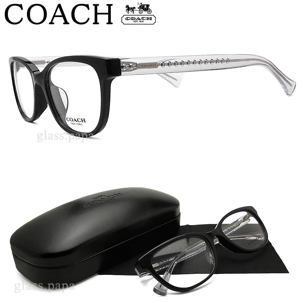 コーチ メガネ COACH HC6072F-5327 【送料無料・代引手数料無料】 眼鏡 ブランド 伊達メガネ 度付き ブラック レディース セル