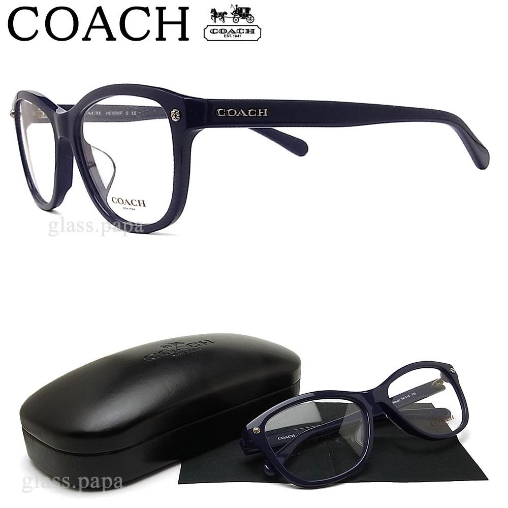 コーチ メガネ COACH HC6095F-5422 眼鏡 ブランド 伊達メガネ 度付き ネイビー Navy レディース 女性