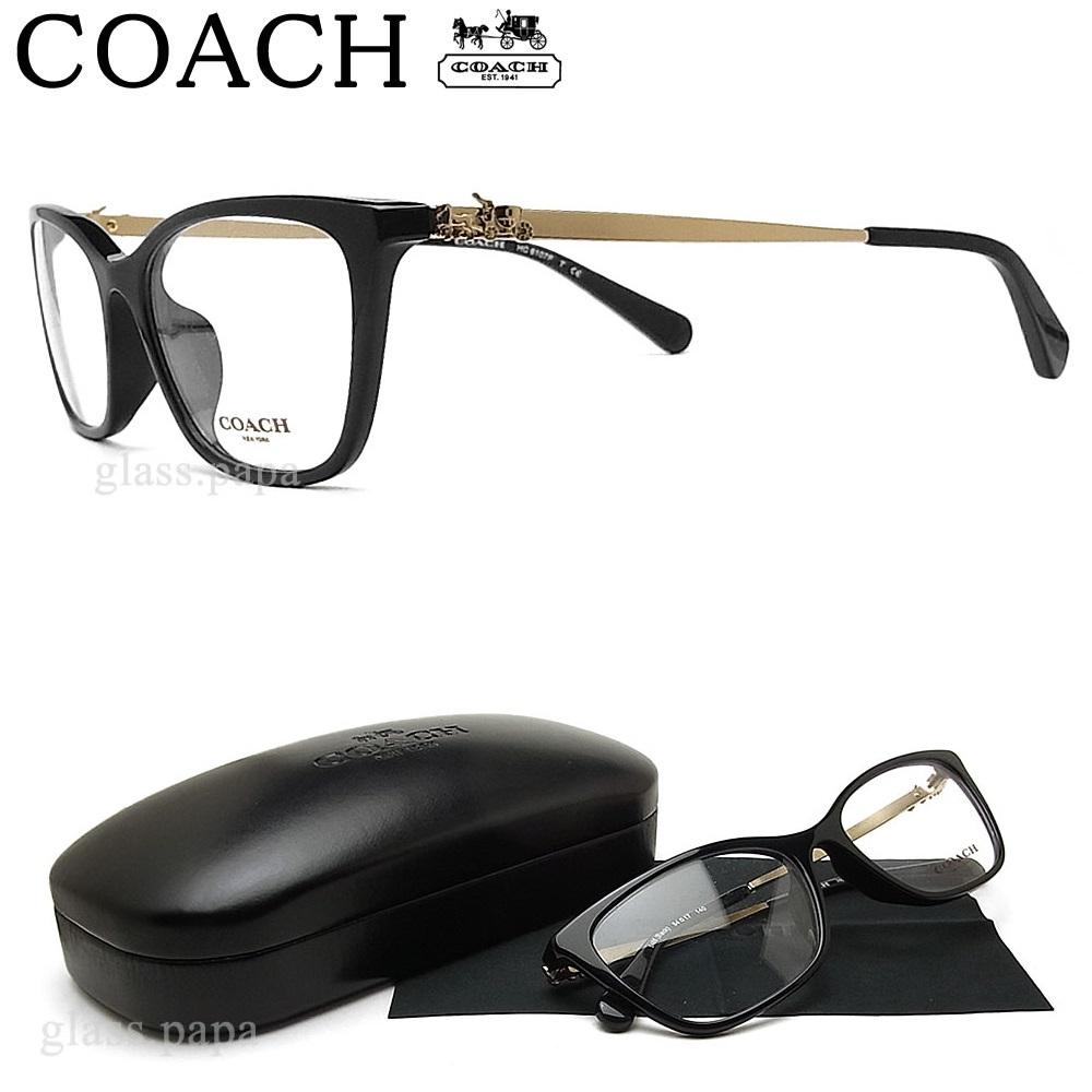 コーチ メガネ COACH HC6107F-5486 眼鏡 ブランド 伊達メガネ 度付き ブラック Black レディース 女性