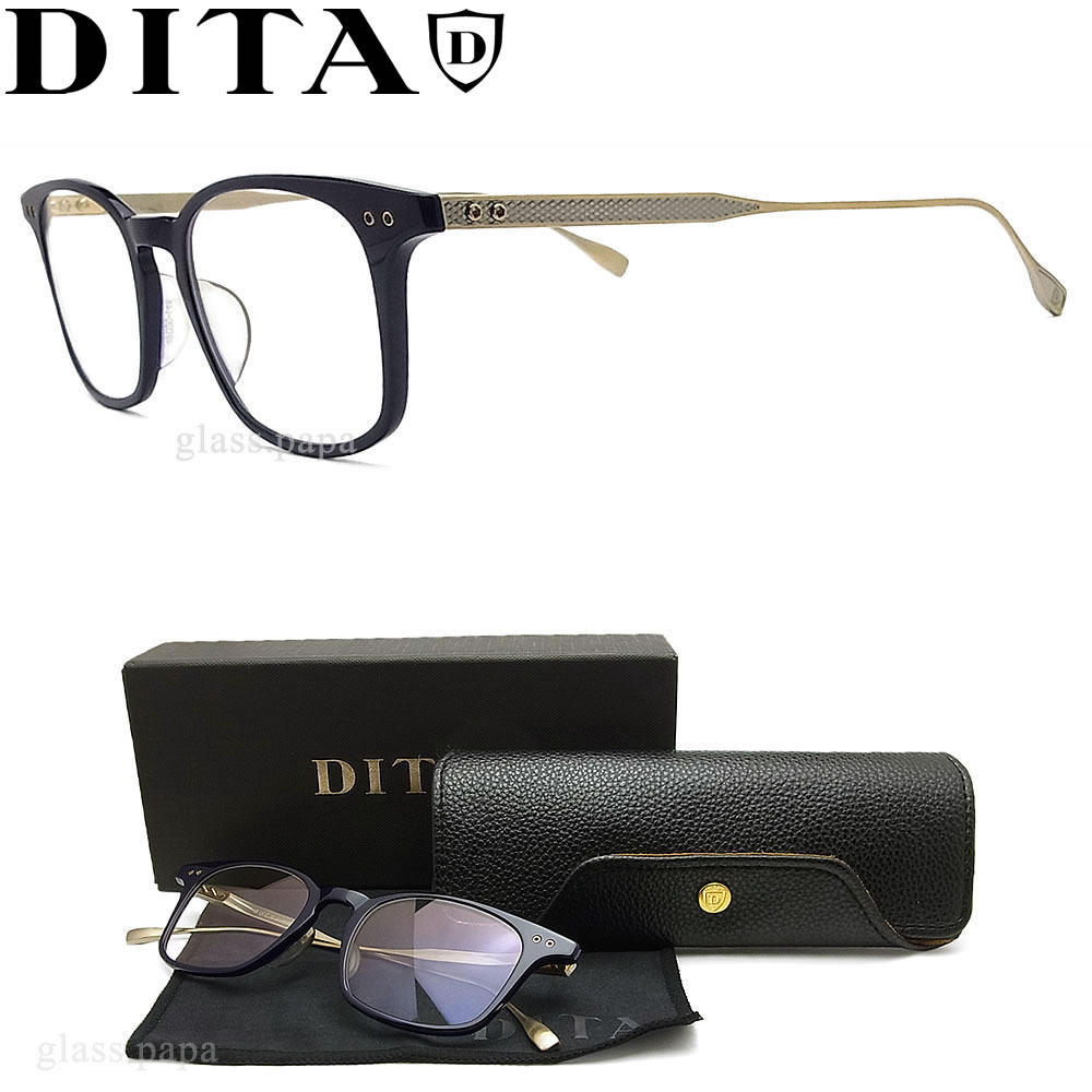 ac3a12cacee0 Navy men with the DITA ディータメガネフレーム DRX-2072-C-NVY glasses classic glasses  degree for show