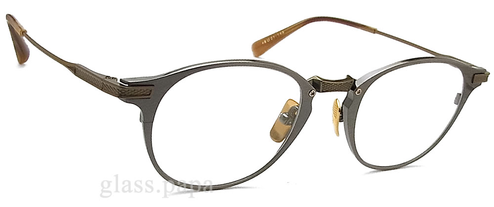 e6c0bc6b94d Antique gray men with the DITA ディータメガネフレーム DRX-2078-C-SLV glasses classic  glasses degree for show