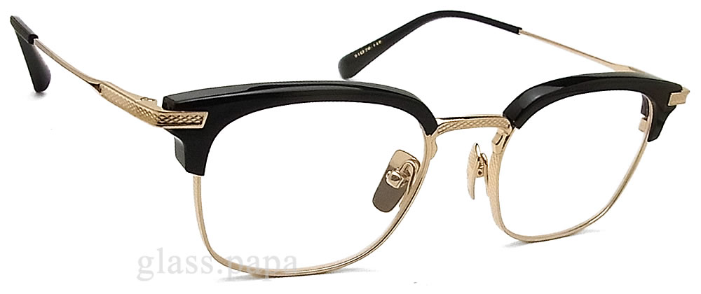 c4675f49fc69 Dita eyewear dita megane classic date with glasses black gold mens glasspapa  jpg 1000x420 Drx 2080