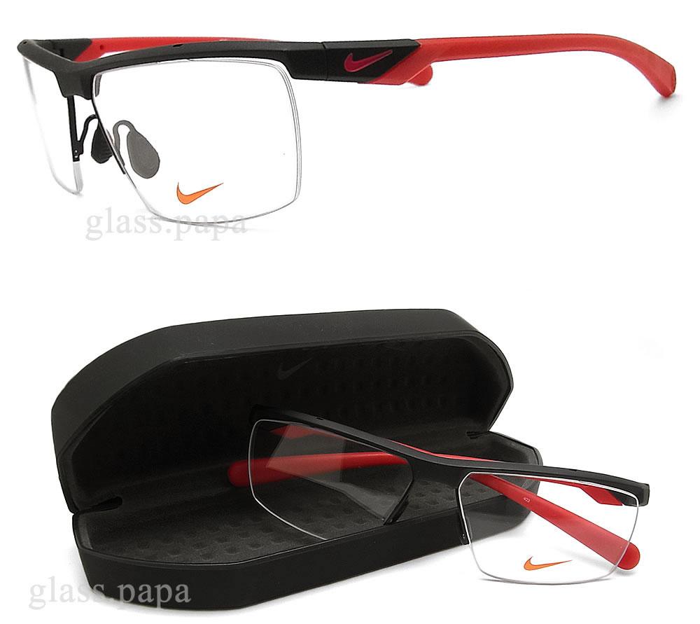 Sports frames for eyeglasses - Nike Nike Glasses Frames 70752 003 Eyeglasses Brand Sports Ita Glasses Again With Matt Black