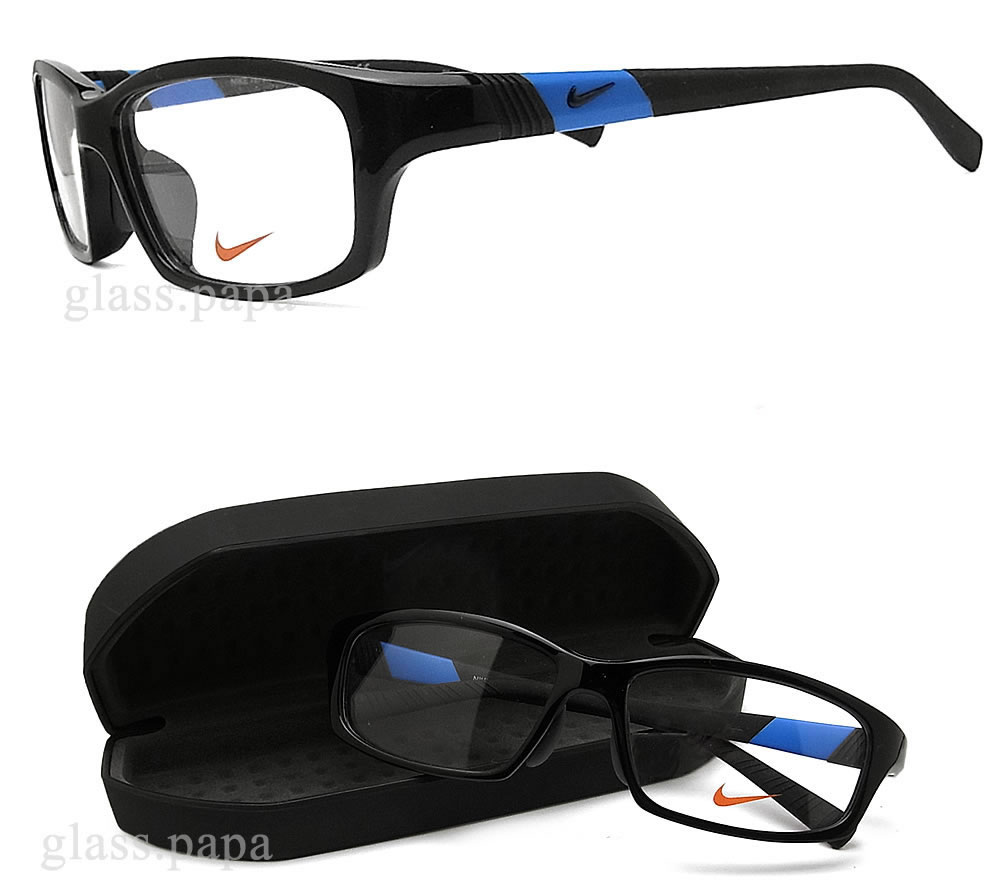 94c2f4e4868 Nike glasses NIKE 7879AF-009 Eyewear brand sport date black men s glasspapa  with glasses