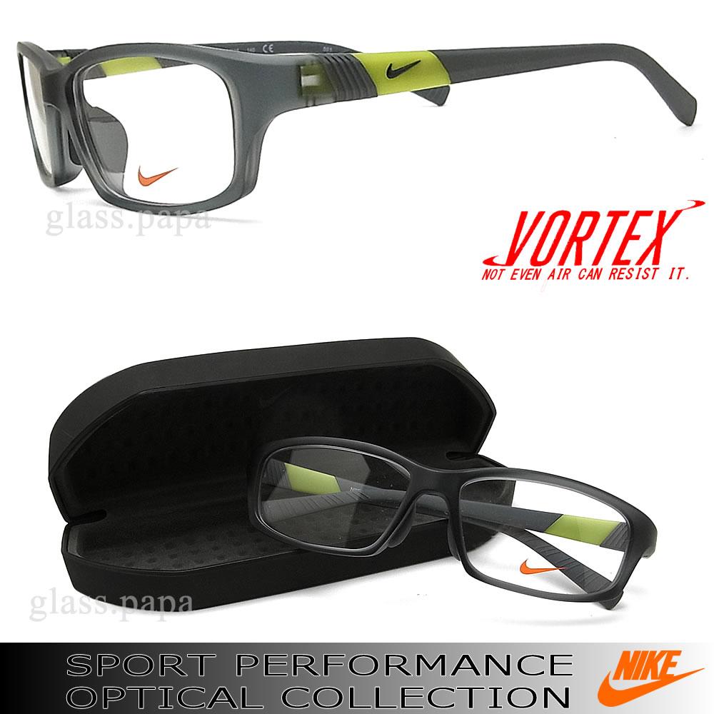 Nike glasses 7879AF-037 NIKE Eyewear brand sports ITA transparentgray men's glasspapa with glasses