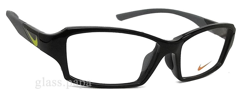 戴着眼镜的耐克耐克 7880AF-004 眼镜眼镜品牌体育日期黑色男装 glasspapa