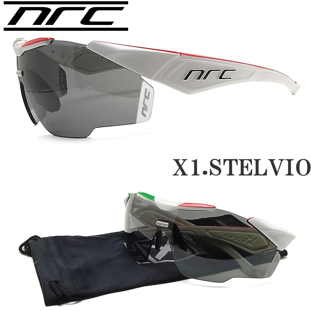 NRC エヌアールシー サングラス X1.STELVIO スポーツ ランニング サイクル ロードバイク アウトドア ZWISSレンズ