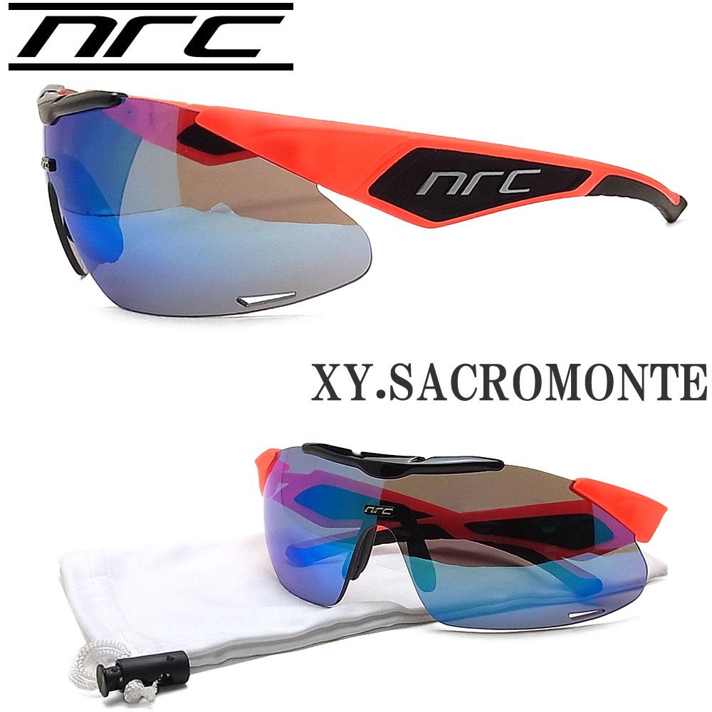 NRC エヌアールシー サングラス XY.SACROMONTE スポーツ ランニング サイクル ロードバイク アウトドア ZWISSレンズ