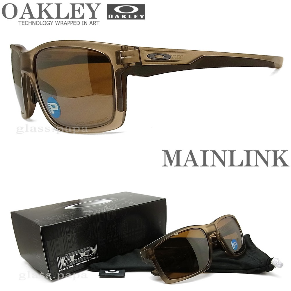 OAKLEY オークリー サングラス メインリンク 偏光レンズ [OAKLEY MAINLINK Polarized] 009264-06 【送料無料・代引き手数料無料】 UVカット