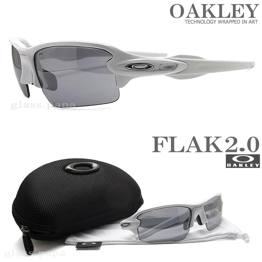 OAKLEY オークリー サングラス フラック2.0 アジアンフィット 009271-1661 [FLAK 2.0 ASIAN FIT] Polished White