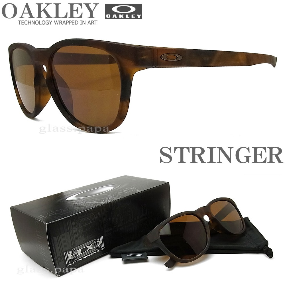 OAKLEY オークリー サングラス ストリンガー [OAKLEY STRINGER] 009315-02 【送料無料・代引き手数料無料】 UVカット