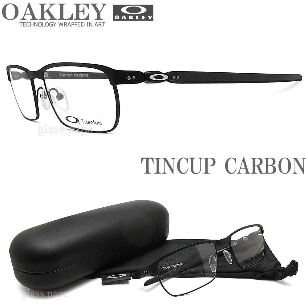 OAKLEY オークリー メガネフレーム [TINCUP CARBON ティンカップカーボン] OX5094-0154 眼鏡 ブランド スポーツ 伊達メガネ 度付き POWDER COAL メンズ