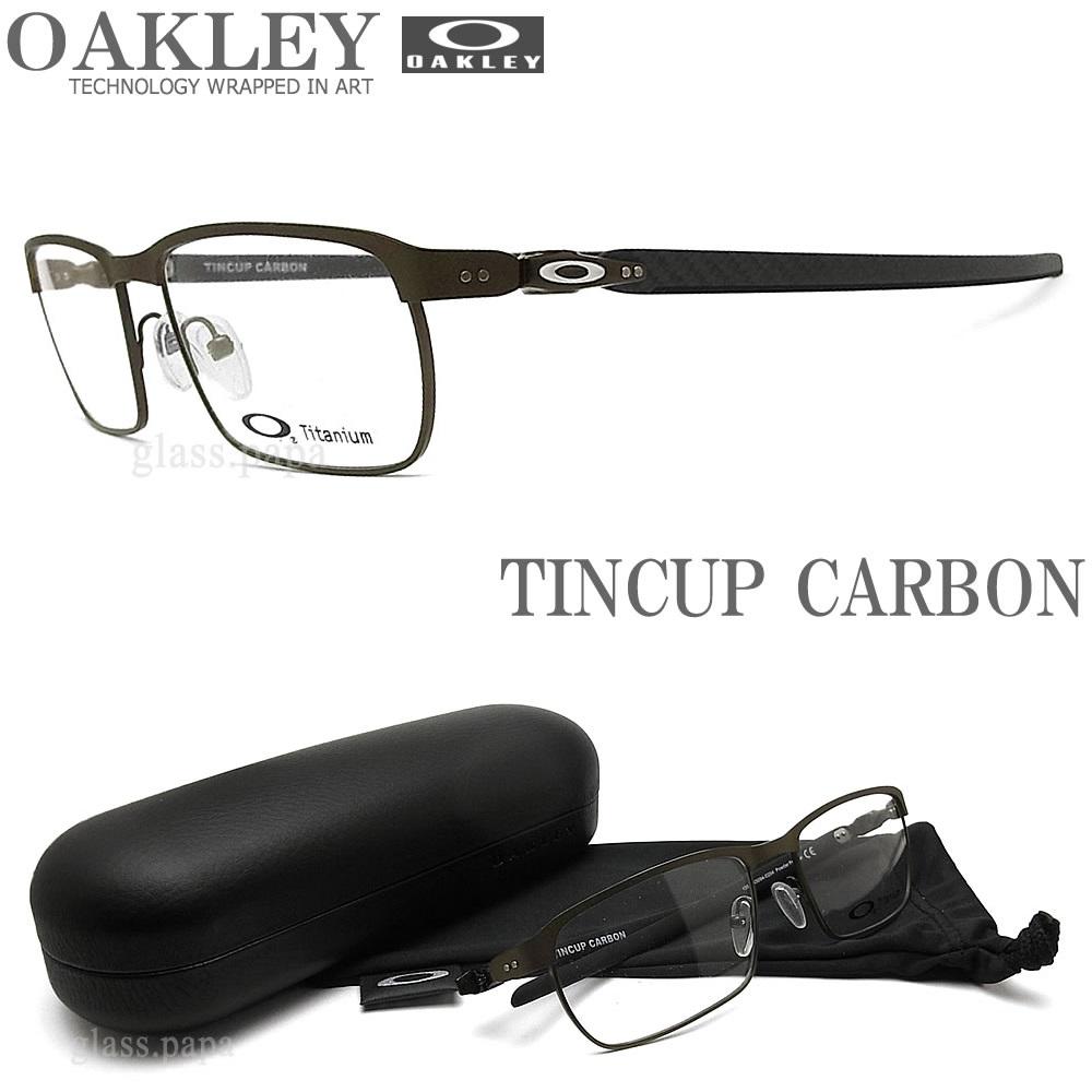 OAKLEY オークリー メガネフレーム [TINCUP CARBON ティンカップカーボン] OX5094-0254 眼鏡 ブランド スポーツ 伊達メガネ 度付き POWDER PEWTER メンズ