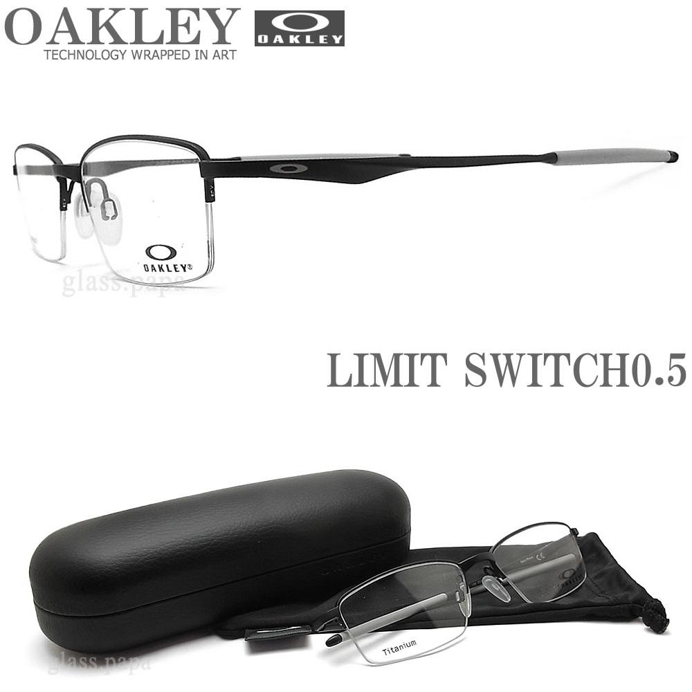 OAKLEY オークリー メガネフレーム [LIMIT SWITCH 0.5 リミットスウィッチ0.5] OX5119-0152 サイズ52 眼鏡 ブランド スポーツ 伊達メガネ 度付き Satin Black メンズ・レディース